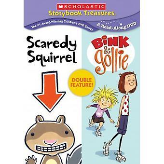 Scaredy eekhoorn & Bink & Gollie Verdubbelfunctie [DVD] USA import