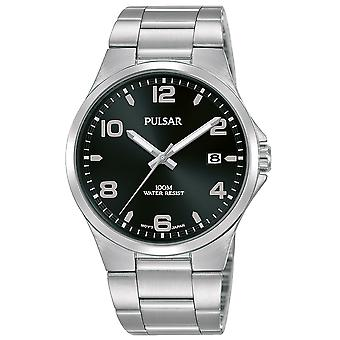 Mens Watch Pulsar PS9619X1، كوارتز، 38 مم، 10ATM