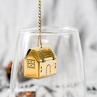 Infusore di case d'oro e d'argento