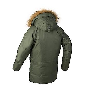 Dlhá zimná bunda-kožušina kapucňa, Taktické Bomber