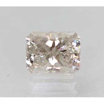 معتمد 0.54 قيراط أنا VS1 مشع المحسن الماس الطبيعية فضفاضة 5.21x4.02m 2VG