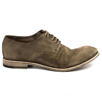 Barrow férfi cipő;S barna velúr béleletlen