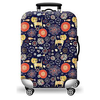 Couvercle élastique de valise de bagage facile à installer