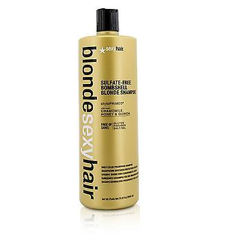 Sexy Hair Concepts Blonde Sexy Hair Sulfate-Free Bombshell Blonde Shampoo (Daily Color Preserving) 1000ml/33.8oz