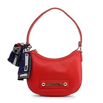 Love moschino women's shoulder bag red jc4222pp08kd