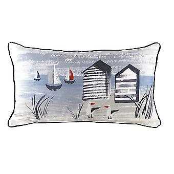 Evans Lichfield Nautical Beach Hut kudde omslag