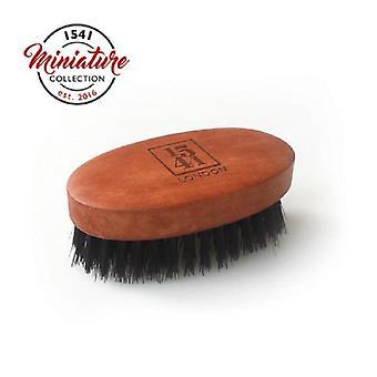 1541 London Mini Beard & Moustache Brush Pearwood