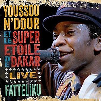 Youssou N'Dour - Fatteliku: Live From Athens [CD] USA import