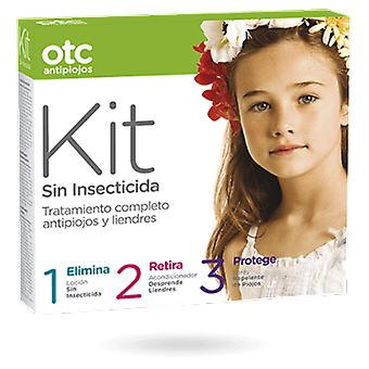 Otc Antipiojos Without Otc 123 Insecticide Lice Kit (+ Conditioner + Repellent Lotion)