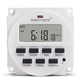 Lcd digitale display 7 dagen programmeerbare timers switch control timer met