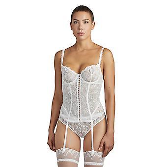 オーバデ・プール・トゥジュールTC92女性&アポス;sオパール刺繍非パッドアンダーワイヤードバスク