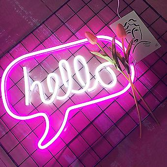 Neon Light Sign Letters Neon Sign Party Bryllup Dekorationer Home Wall Decor