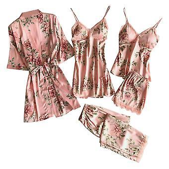 5-delige set imitatie pyjama's