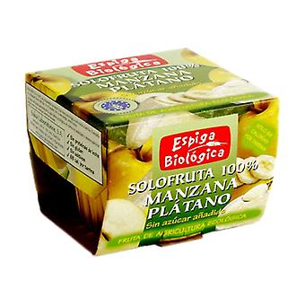 Sugarless Organic Apple Banana Jam 2 units of 100g