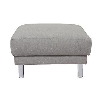 Mex Footstool Light Grey