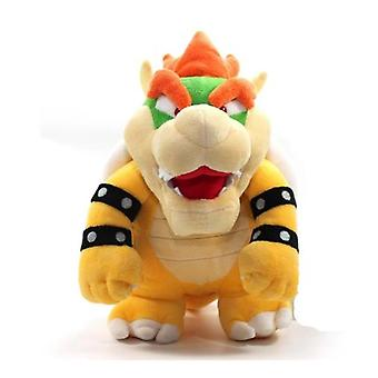Film Anime 26cm Bowser Dragon Stuffed Peluche Toy Kids Doll