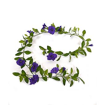 Kunstig Petunia Garland Deluxe 180 cm lilla
