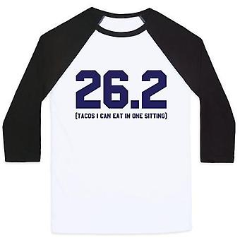 26.2 Tacos in one sitting unisex classic baseball tee