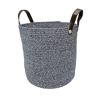 Sundries storage basket with handle