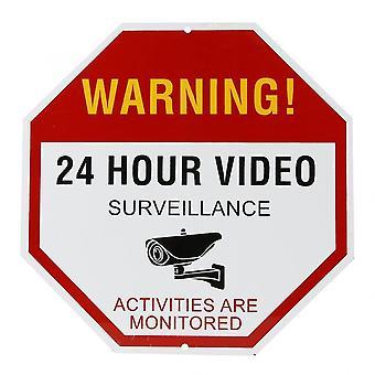 Advarselsskilt for videoovervåkning