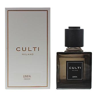 Culti Milano Decor Diffuser 250ml - Linfa - Sticks Not Included In The Box