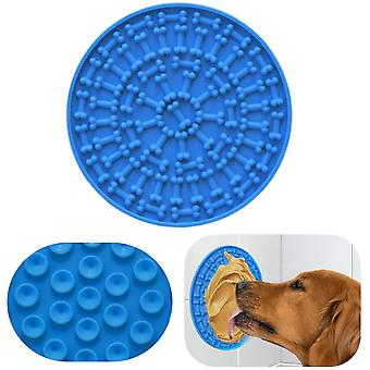 Pad For Dog Lick - Washing Distraction Device, Slow Eating Mat