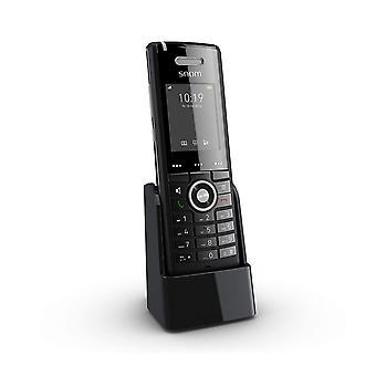 Wokex M65 Professional DECT-Mobilteil (250 Stunden Standby, 2 Zoll 176 x 220 Pixel TFT, SW