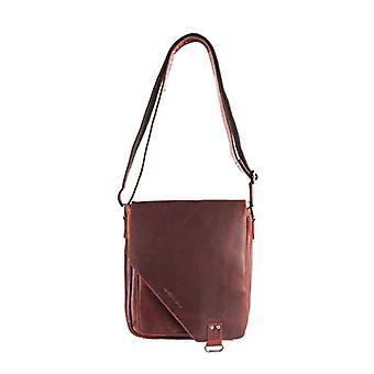 Arrigo 026R, Unisex Adult Shoulder Bag, Red (Red (Rood Rood)), 31x34x10 cm (B x H x T)