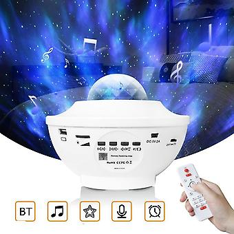 Starry Sky Projector Usb Voice Control Music Player Led Night Light