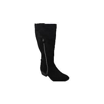 Mia Womens DAX NuBuck Closed Toe Knee High Boots Fashion Boots
