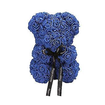 Navy valentine's day gift 25 cm rose bear birthday gift£¬ memory day gift teddy bear az17181