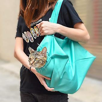 Mukava kissan kantaja hoito säkki yksi olkapää h-pidetty kissanpentu laukku dt5806