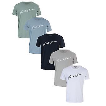 T-shirt Jack Jones Jax 5 Pack da uomo in altro