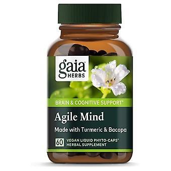 Gaia Herbs Agile Mind, 0, 60 tellen