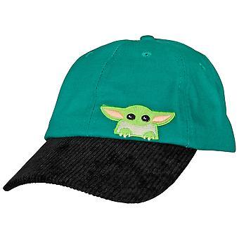 Star Wars The Child Grogu Peeking Adjustable Snapback Dad Hat