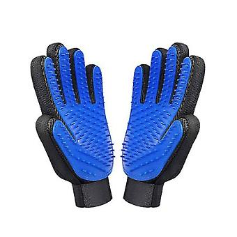 1 Pair Of Dog Grooming Gloves, Pet Dust Removal Gloves, Pet Massage