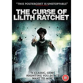 A Maldição de Lilith Ratchet DVD (2019) KateLynn E. Newberry Lengyel (DIR) cert Região 2