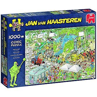Jumbo Jan van Haasteren The Film Set Jigsaw - 1000 Piece