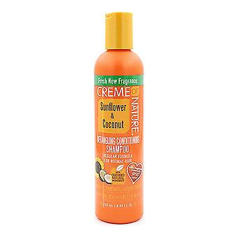 Shampoo and Conditioner Creme Of Nature (250 ml)