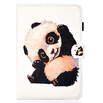Case For Ipad 5 9.7 2017 Cover With Auto Sleep/wake Pattern Magnetic - Cute Panda