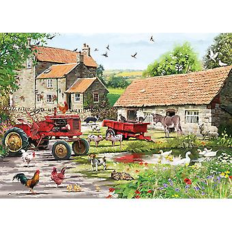 Otter House On The Farm Jigsaw Puzzle (1000 Pieces)