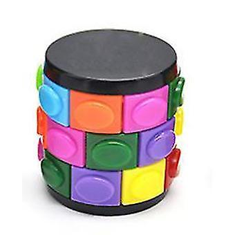 Farve Børns intellektuelle Creative Magic Tower Cube legetøj (S)