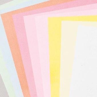 10 olika ark av A4 Pastellfärgad hantverkssted - 1mm tjock