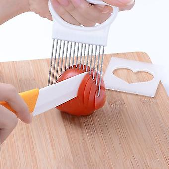 Kitchen cabinets tomato onion vegetables slicer cutting tool/holder