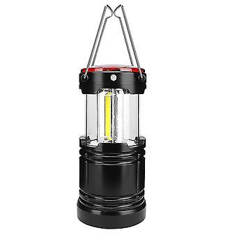 Lampe de tente LED Extérieur Camping Lumière Lanterne portable Éclairage de travail Chargement USB (pas de batterie)