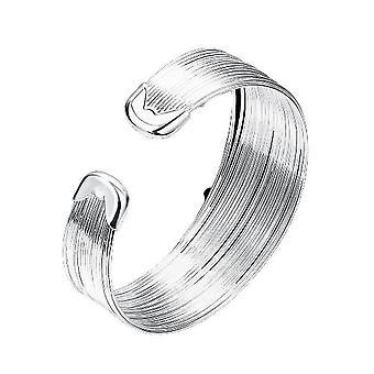 Pyöreä muoto hopea rannekoru naisille