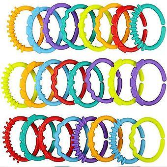 Rattles plast grepp tandändare ring molars rattle säkerhet för barn sm159290