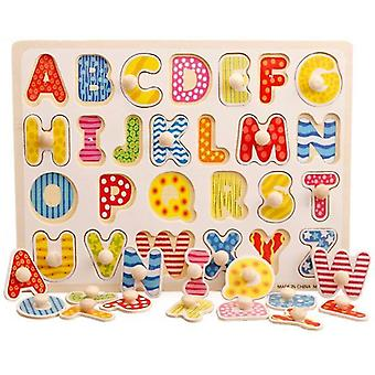 Jigsaw puzzles d animal letter jigsaw early kids educational toys