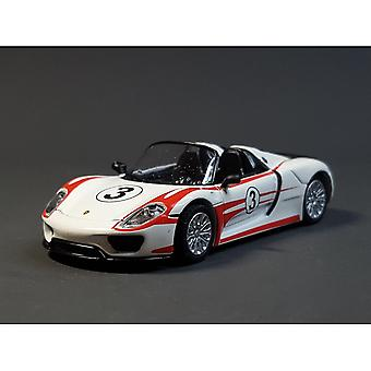 Toy cars schuco 1/32 918 spyder #3 toyeast limited edition die cast model car collection limited