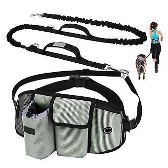 Pet Training Lommer, Pet Snack Tasker, Walking Dog Artefakter, Praktisk Løbelommer, Håndfri Hund Snore Green
